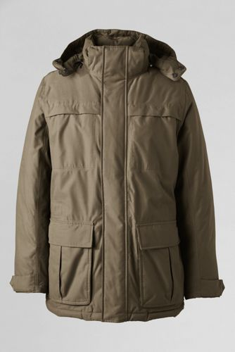 Lands' End Germany Daunenparka für Herren - Standard Khaki - 56-58 von Lands' End