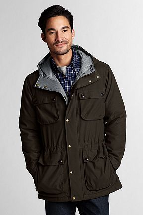 Sportsman Reversible Parka 419710: Alpine Forest