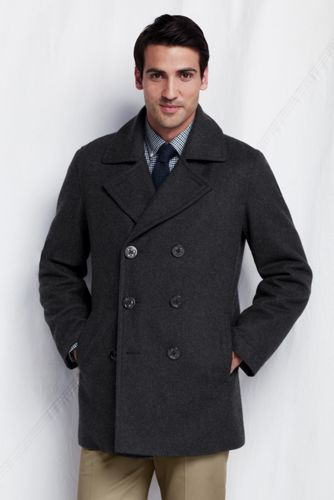 Men's Regular Wool Pea Coat