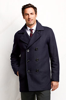 Men's Wool Pea Coat