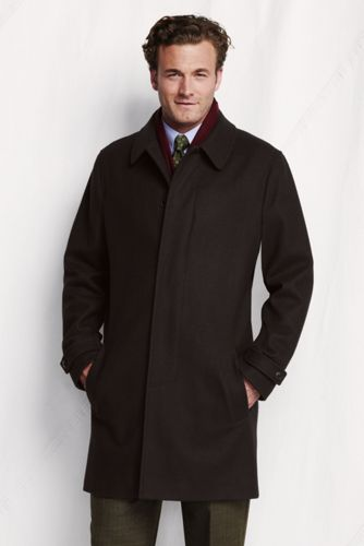 Men's Regular Wool Topcoat