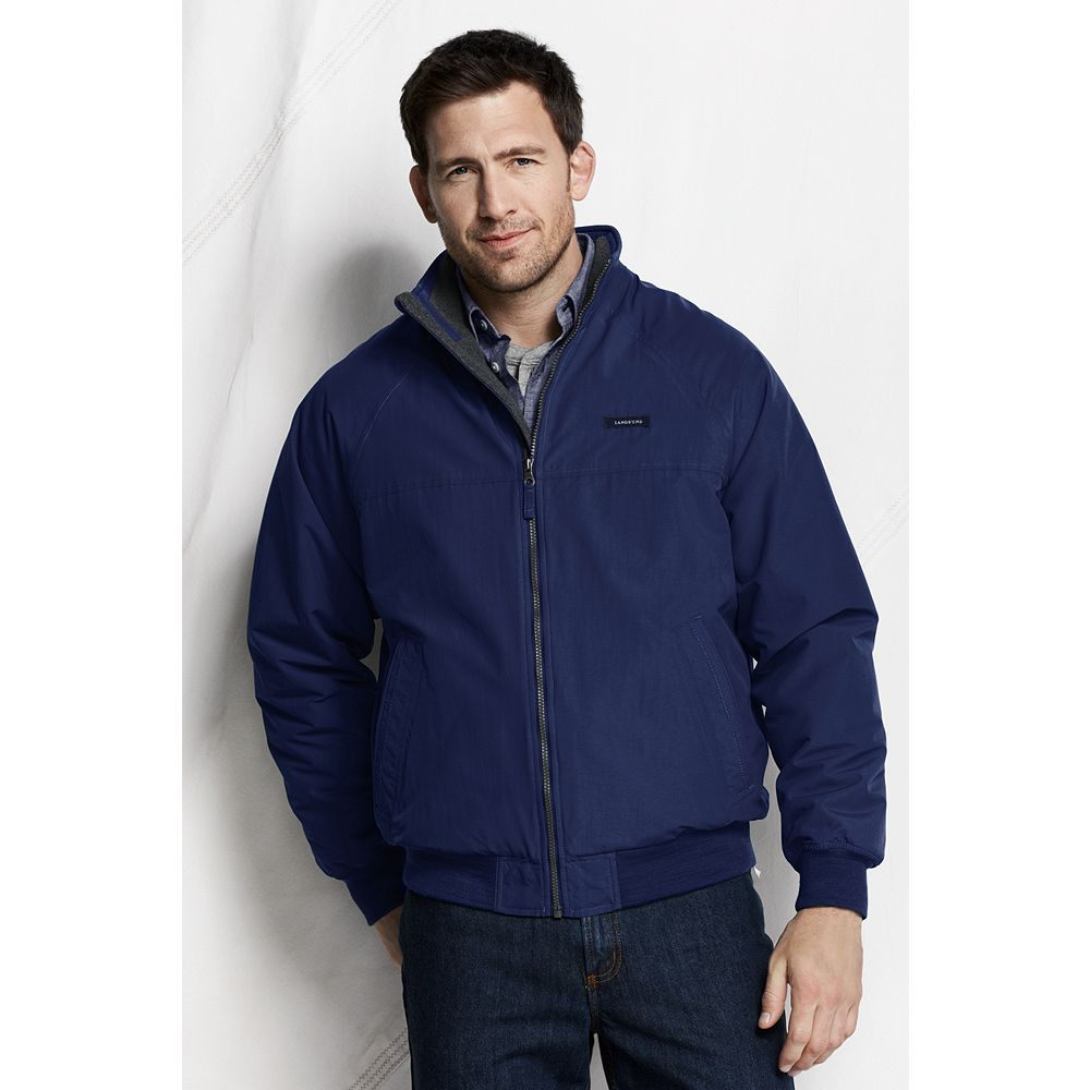 Lands' End Men's Big & Tall Classic Squall Jacket at Sears.com