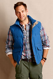 Canvas Men's Retro Down Vest