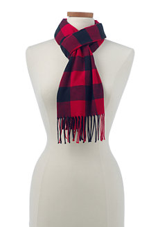 Patterned CashTouch Scarf