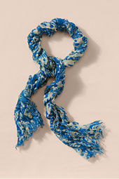 Women's Mercerized Wool Scarf