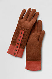 Women's Tipped Cuff Gloves