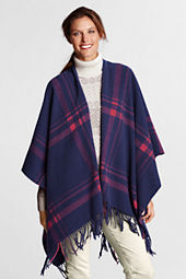 Women's Plaid Wrap