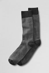 Men's Herringbone Cashmere Socks