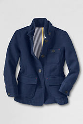 Girls' Herringbone Jacket
