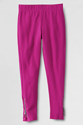 Girls' Zip Hem Leggings