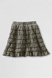 Girls' Woven Multi Tiered Skirt