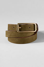 Women's Suede Belt