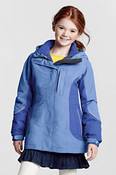 Girls' Squall® 3-in-1 Waterproof Parka