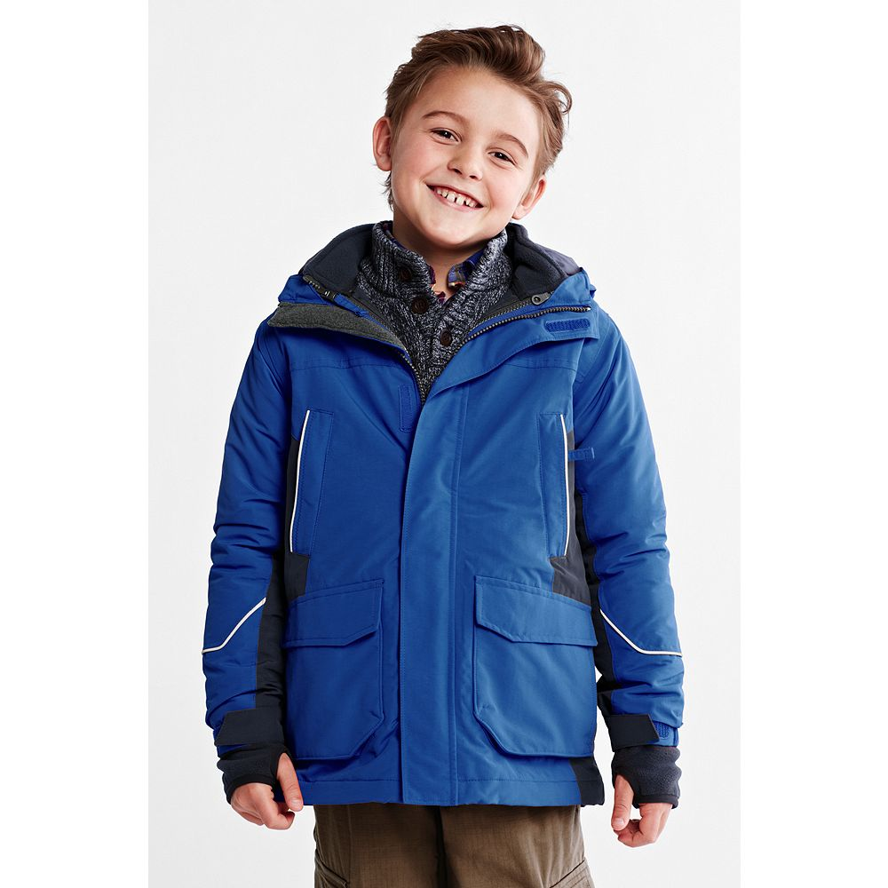 Lands' End Toddler Boys' Squall 3-in-1 Waterproof Parka at Sears.com