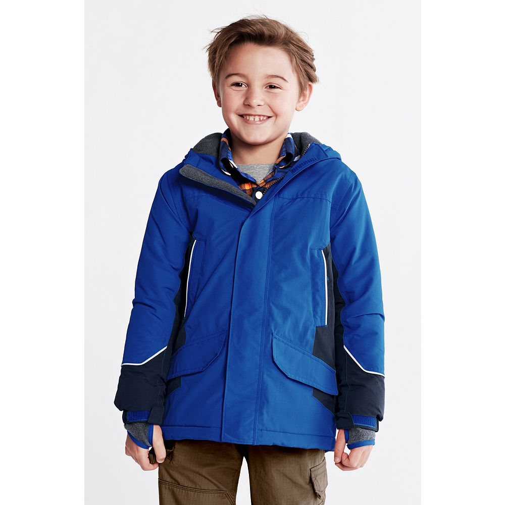 Lands' End Toddler Boys' Waterproof Squall Parka at Sears.com