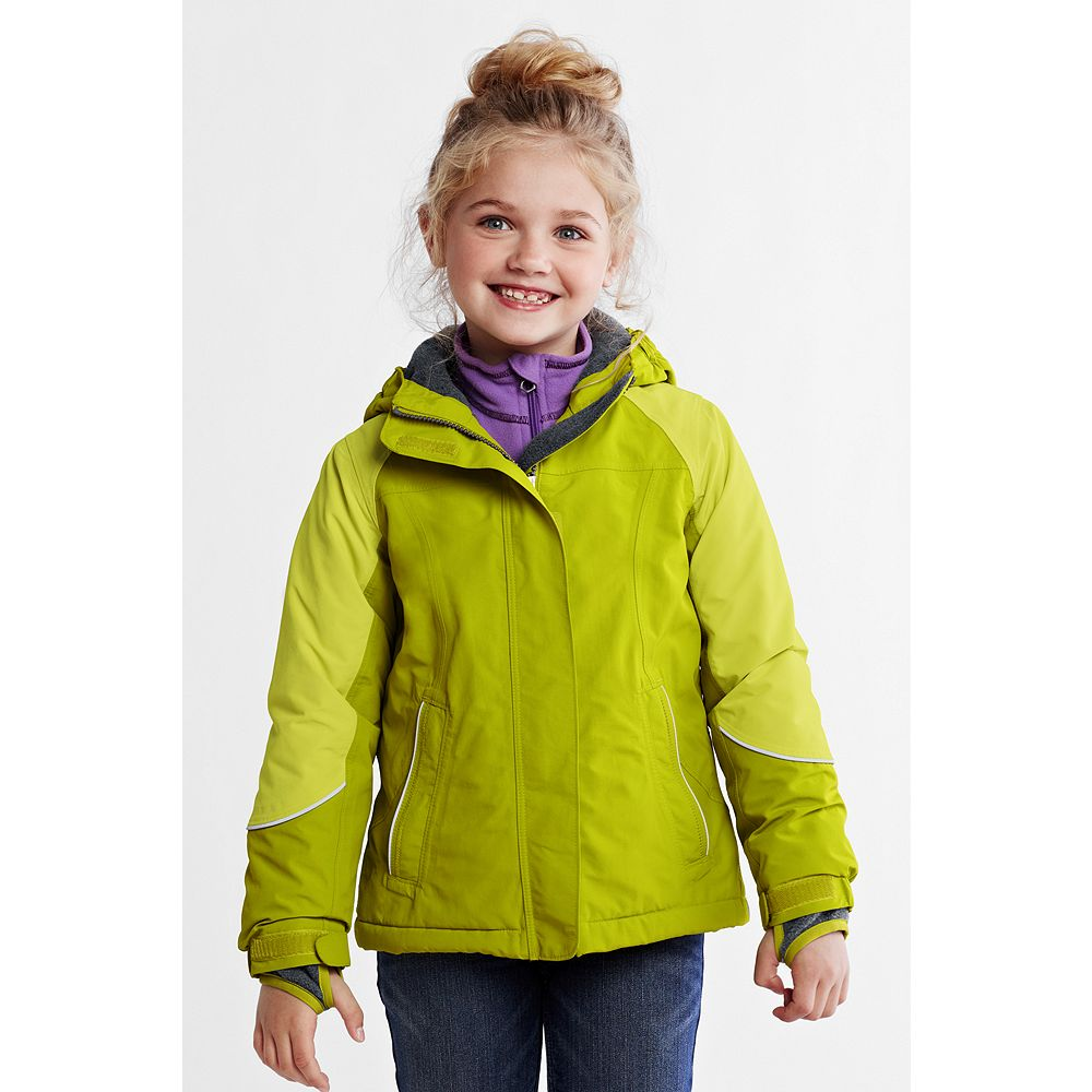 Lands' End Little Girls' Squall Waterproof Jacket at Sears.com
