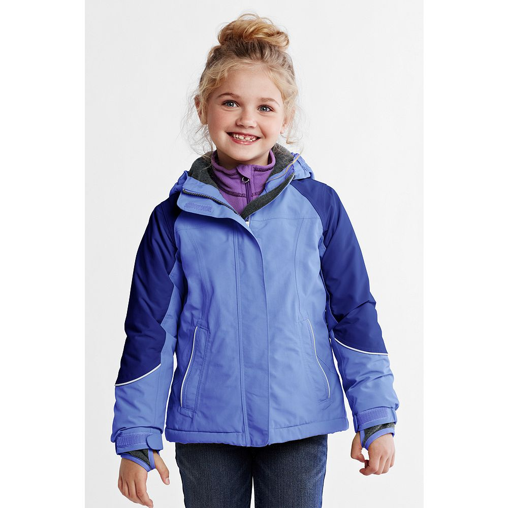 Lands' End Girls' Plus Squall Waterproof Jacket at Sears.com