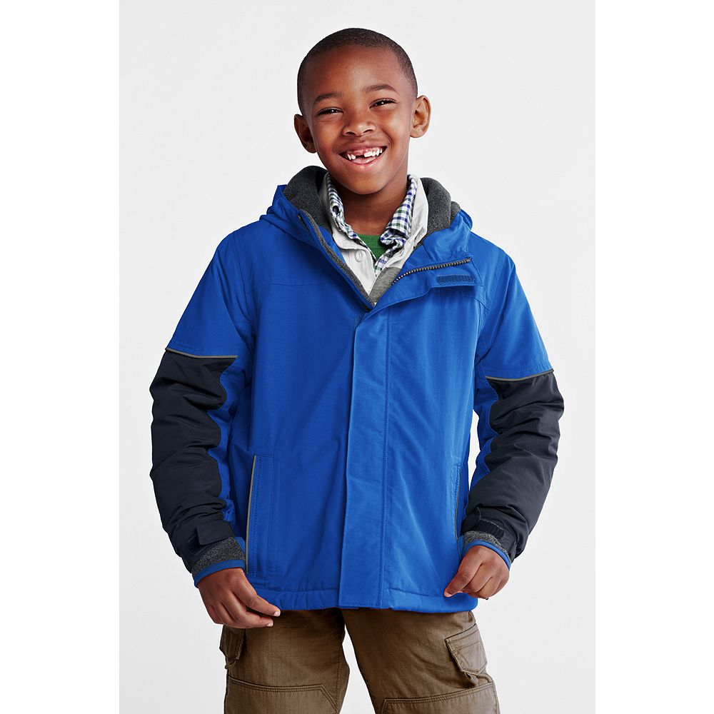 Lands' End Boys' Husky Squall Waterproof Jacket at Sears.com