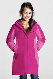 Girls' Stadium Squall Waterpoof Coat