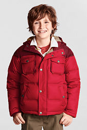 Boys' Colorblock Down Jacket