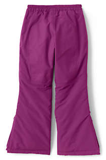 Girls Squall Waterproof Iron Knee Winter Snow Pants, Back