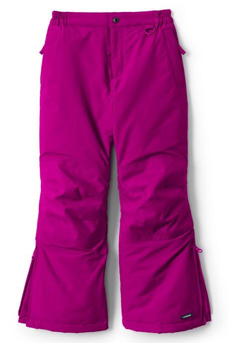 Girls Plus Squall Waterproof Iron Knee Winter Snow Pants