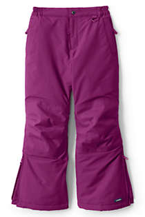 Girls Squall Waterproof Iron Knee Winter Snow Pants, Front