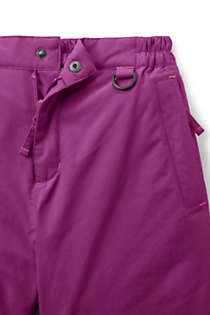 Girls Squall Waterproof Iron Knee Winter Snow Pants, alternative image