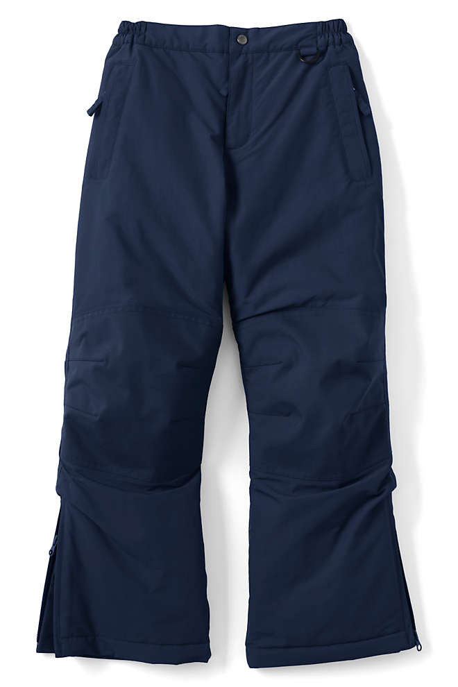 Boys Husky Squall Waterproof Iron Knee Winter Snow Pants, Front