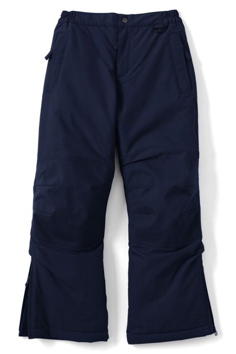 Boys Slim Squall Waterproof Iron Knee Winter Snow Pants