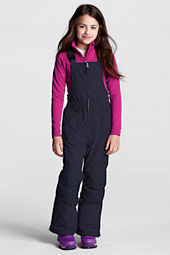 Girls' Waterproof Squall® Snow Bibs