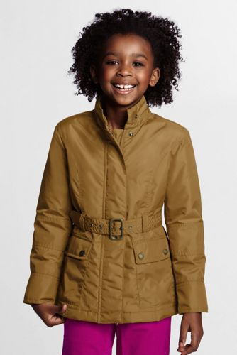 Little Girls' Insulated Moto Jacket