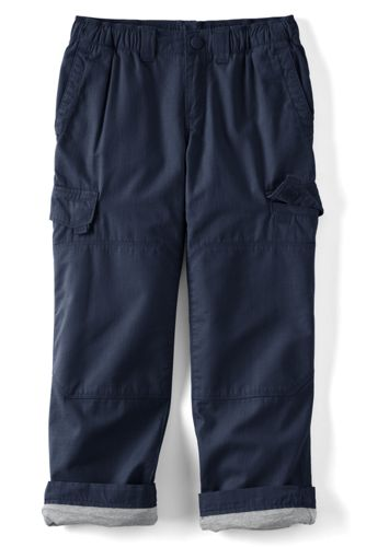 Little Boys' Iron Knee® Lined Ripstop Cargo Trousers