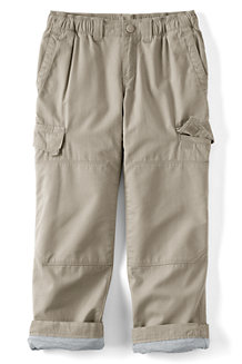 Boys' Iron Knee® Lined Ripstop Cargo Trousers
