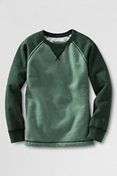 Boys' Two Tone Fleece Crew