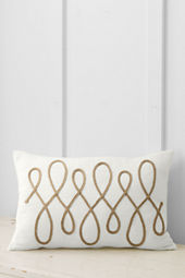 "14"" x 22"" Loop Decorative Pillow Cover"