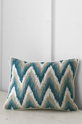 "12"" x 16"" Needlepoint Chevron Decorative Pillow Cover or Insert"