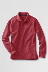 Toddler Boys' Long Sleeve Mesh Polo