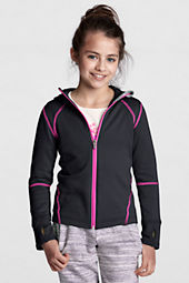 Girls' Polartec® Powerstretch Hoodie
