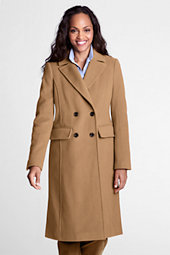 Women's Luxe Wool Double-breasted Coat