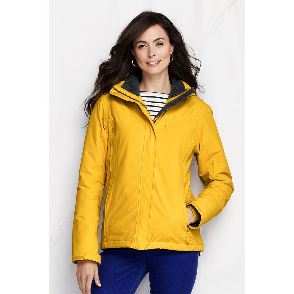 Lands' End Women's Regular Hooded Squall Jacket at Sears.com
