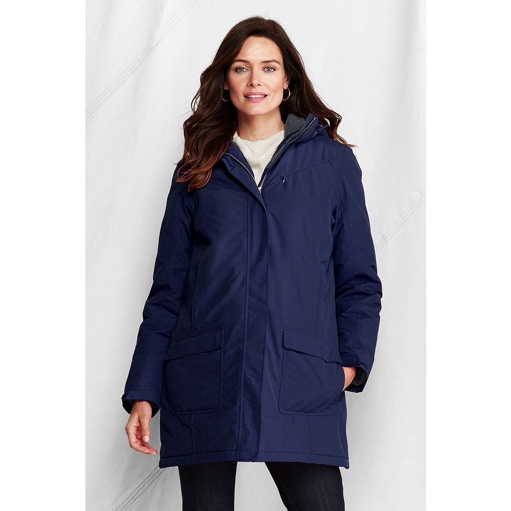 Lands' End Women's Petite Insulated Squall Parka at Sears.com
