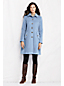 Women's Regular Luxe Wool Blend Swing Car Coat