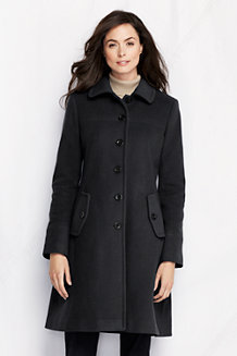 Luxe Wollmantel für Damen