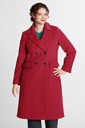 Women's Luxe Wool Double Breasted Coat