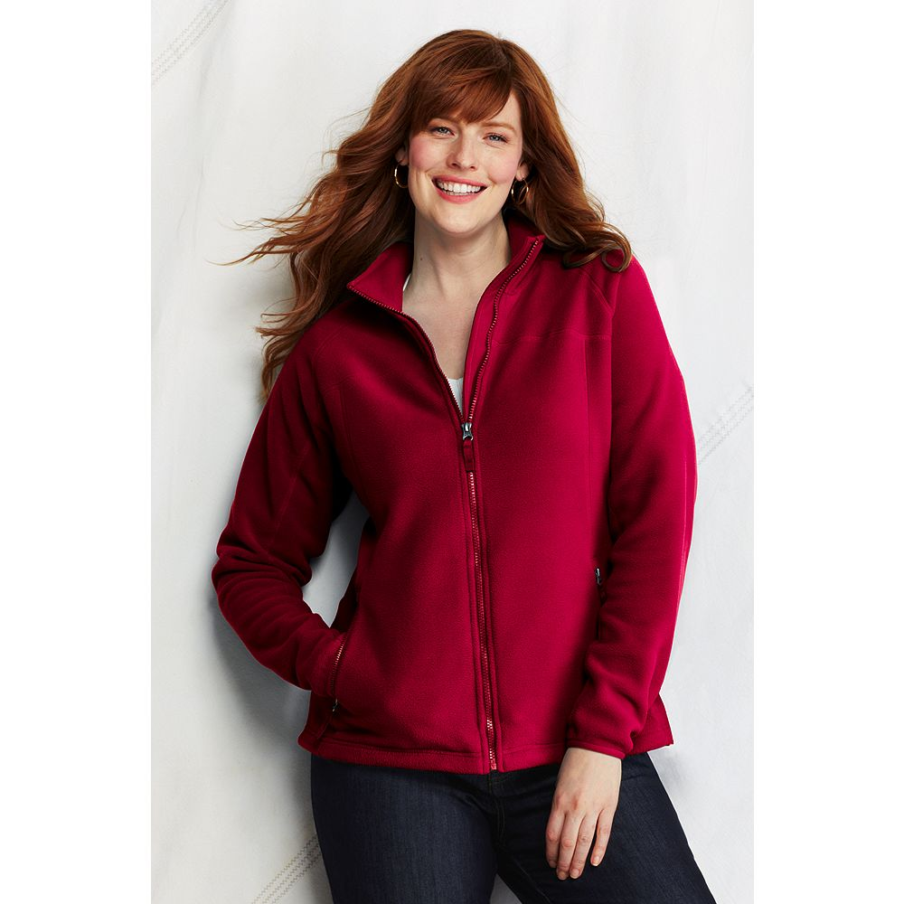 Lands' End Women's Plus Size Polartec Aircore 200 Jacket at Sears.com