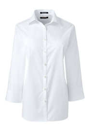 School Uniform Women's 3/4 Sleeve Broadcloth Shirt