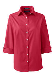 Women's 3/4 Sleeve Broadcloth Shirt