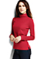 Women's Shaped Supima Long Sleeve Roll Neck