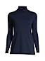 Women's Plus Shaped Supima Long Sleeve Roll Neck